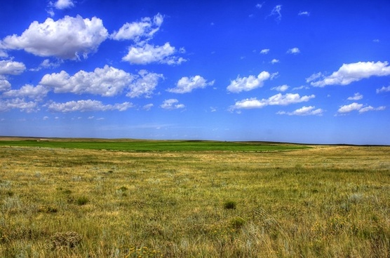 plains under the sky at panorama point nebraska