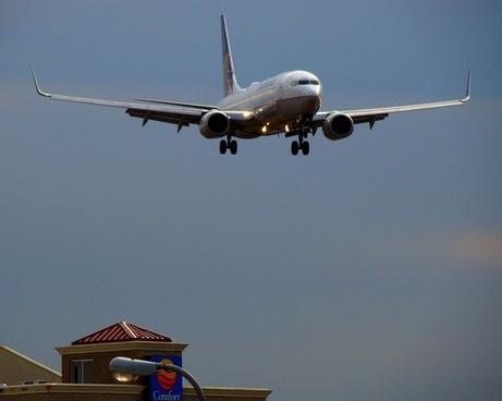 plane airport airplane