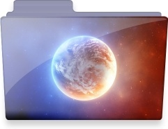 Planet folder