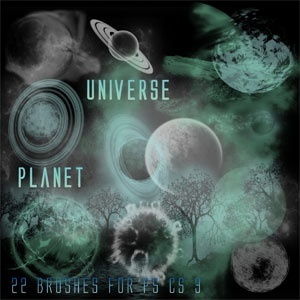Planet Universe Brushes