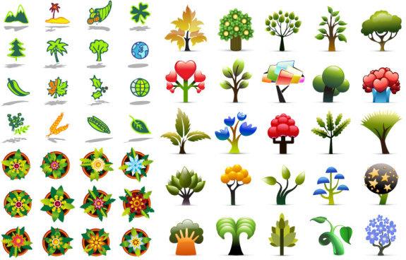 plant icon vector vector