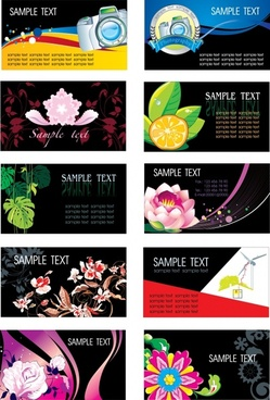 decorative background templates nature camera themes colorful decor