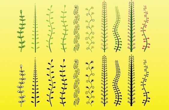 Plants Vector Clip Art
