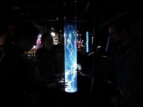 plasma plasma plume plasma lamp