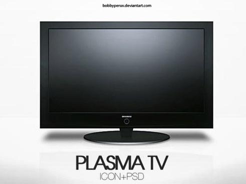 Plasma TV PSD file