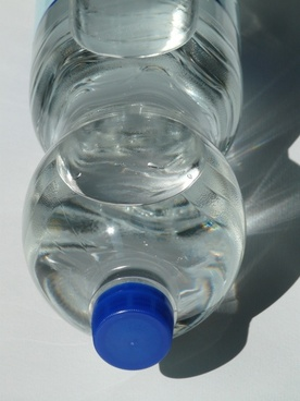 plastic bottle bottle mineral water