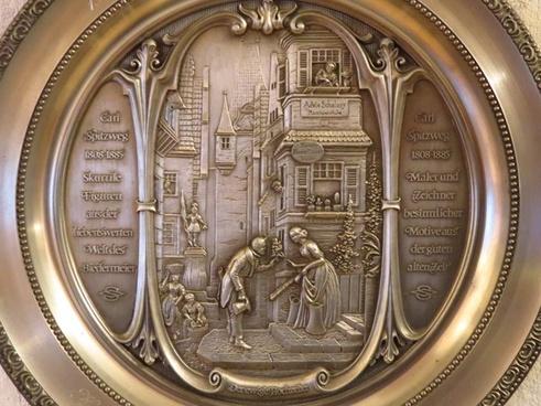 plate relief metal