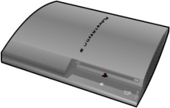 Playstation 3 silver