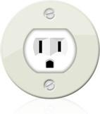 plug round