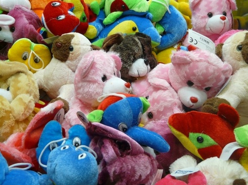 plush toys teddy bears pink