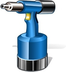 pneumatic riveting tool