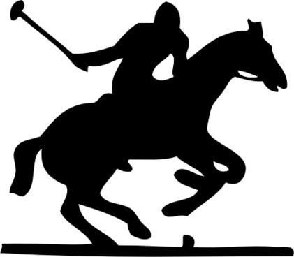 Polo Pony clip art