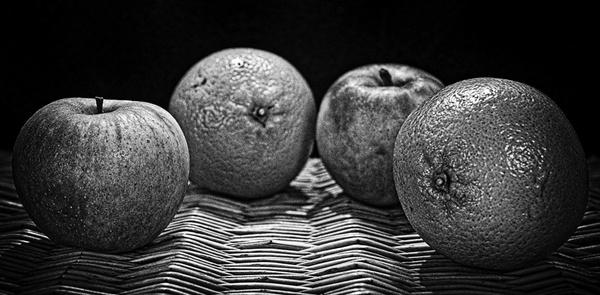 pommes et oranges