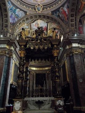 pompous altar church