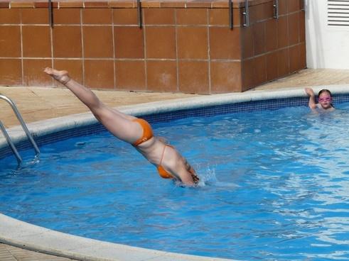 pool jump start plunge