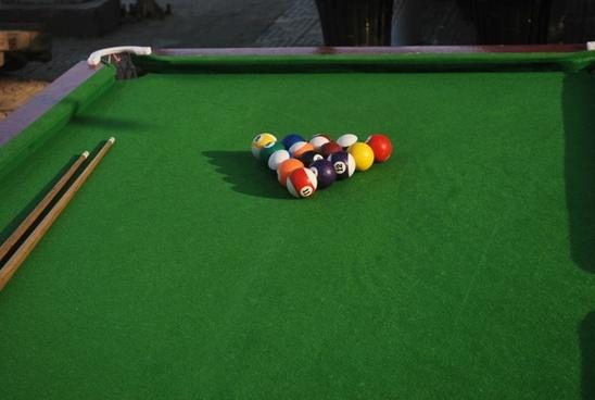 pool table billiards