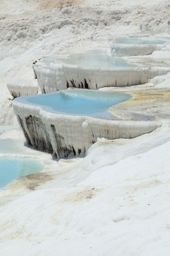 pools in pamukkale