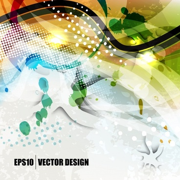 decorative abstract background template sparkling modern dynamic design