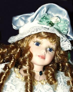 porcelain dolls toy