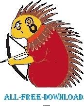 Porcupine Archer
