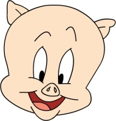 Porky no bow