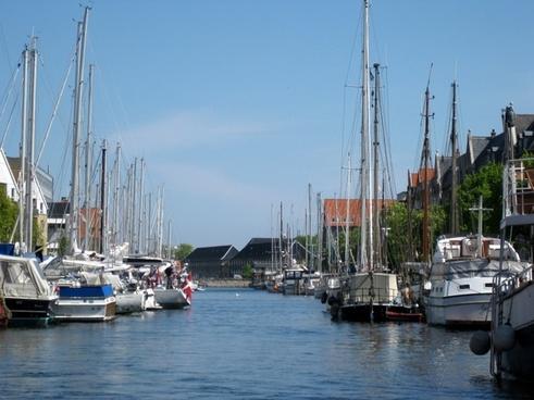 port copenhagen sailing ships