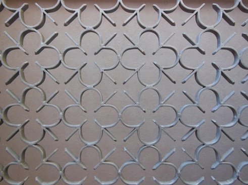 port grille iron detail