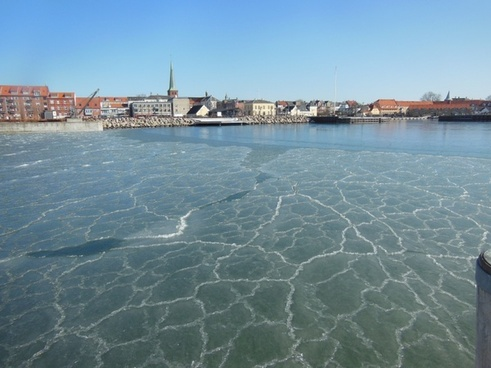 port ice pancake ice