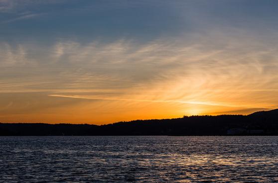 port orchard sunset