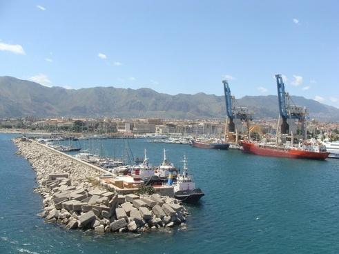 port part crane