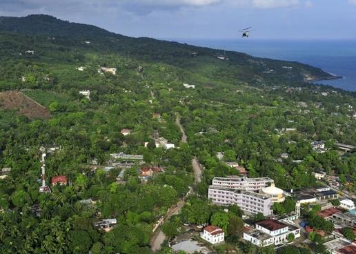 port-au-prince haiti landscape