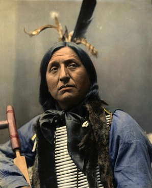 portrait left hand bear chief