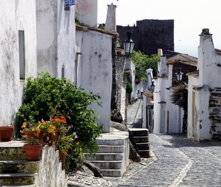 portuguese old town