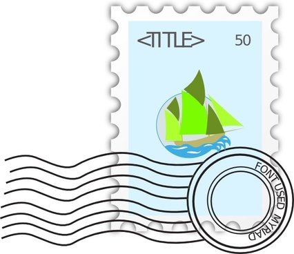 Postage Stamp clip art