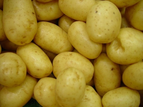 potatoes vegetables raw