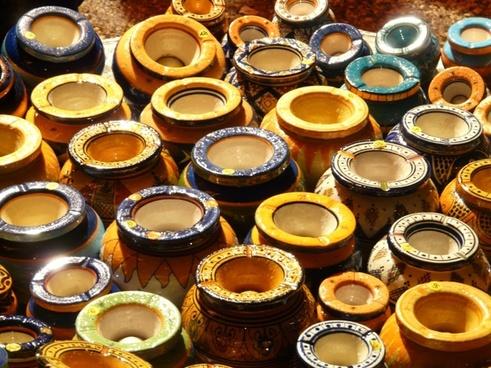 pots jugs ceramic