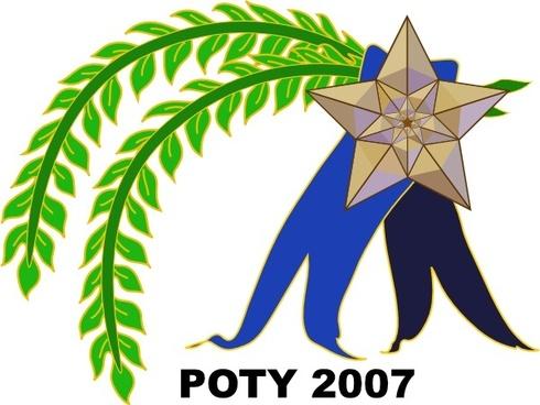 Poty Ribbon clip art