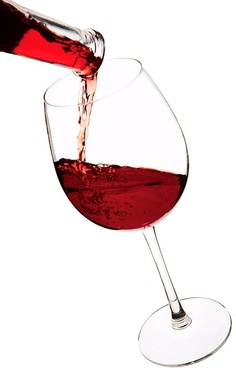 pour red wine picture 2