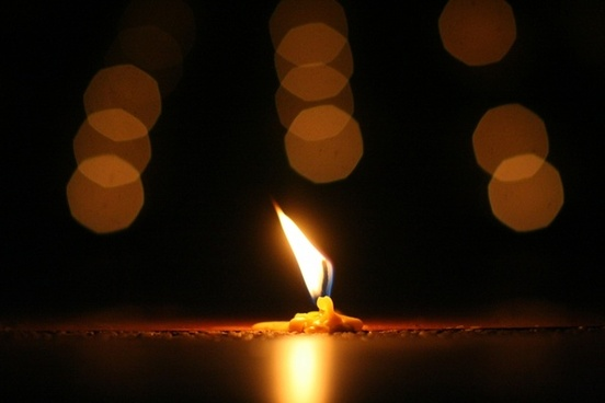 power light candle