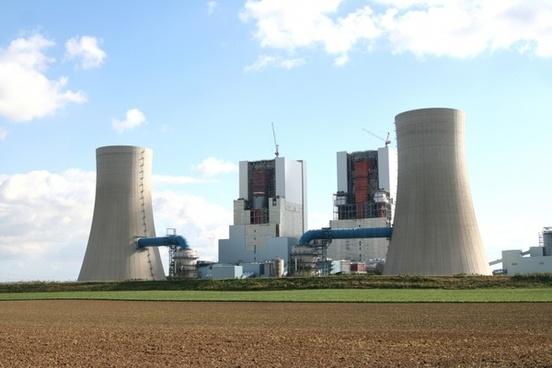 power plant build site