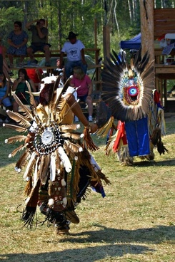 powwow native dancer