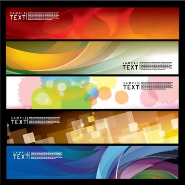decorative background templates modern colorful blurred dynamic design