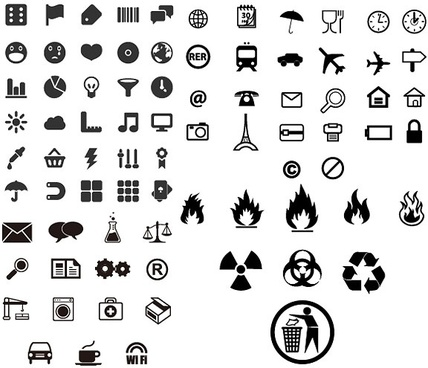 practical small icon vector identification