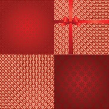 practical snowflake background vector