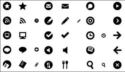 Practical Web Design small icon vector