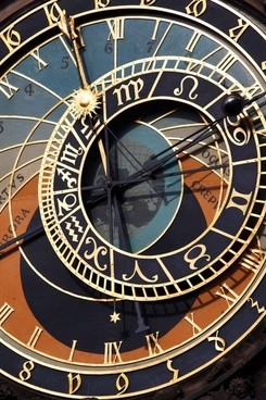 prague astronomical clock detail