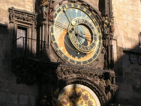 prague astronomical clock famous