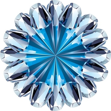 diamond crystal icon luxury shiny modern 3d sketch