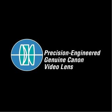 precision engineered genuine canon video lens