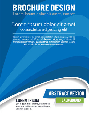 presentation of creative magazine cover vector
